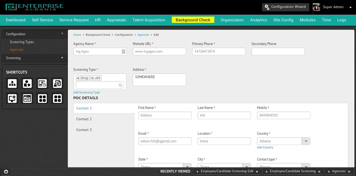 Human Resources Management Software